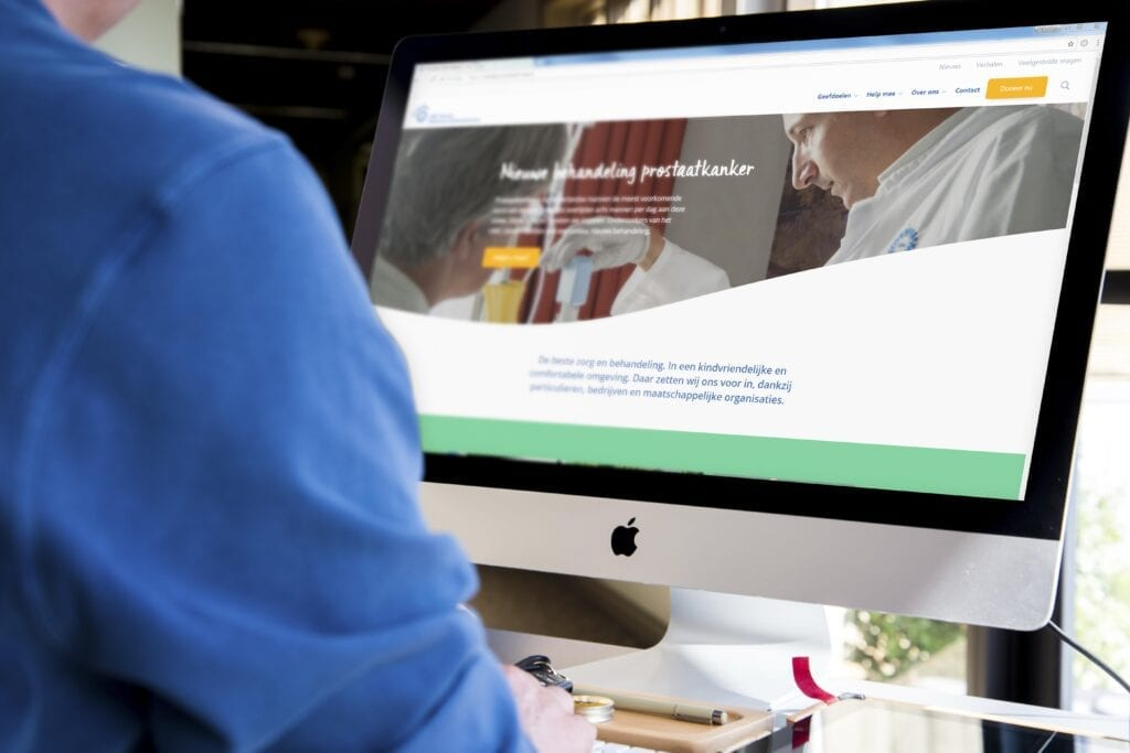Nieuwe website voor Vrienden UMC Utrecht & Wilhelmina Kinderziekenhuis